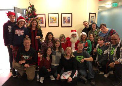 Local outreach -Santa